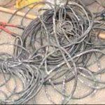 2 برادر 2 کیلومتر کابل برق دزدیدند