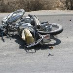 یک کشته و یک مصدوم براثر واژگونی موتورسیکلت