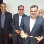 با ابلاغ رسمی و برگزاری آیین معارفه شهردار نیشابور ; نجفی کلید شهر را رسما تحویل گرفت