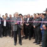 بزرگترین کارخانه آسفالت شرق کشور افتتاح شد