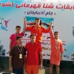 درگفتگو باشناگر نوجوان نیشابوری که 5 رکورد شنای ایران را جابه جا کرد