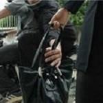 دستگیری 4جوان سارق در حین کیف قاپی