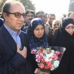 هاجر چنارانی و حمید گرمابی نمایندگان مردم نیشابور و فیروزه در دهمین دوره مجلس