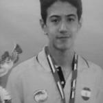 قهرمانی بین المللی دانش آموز شناگر نیشابوری