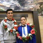 تجلیل از دو قهرمان جهان در خرو