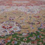 آغاز بافت ظریف ترین و سومین فرش بزرگ جهان در نیشابور