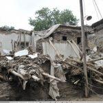 با بارش 22 میلی متری باران اتفاق افتاد:  تخریب کامل ده منزل مسکونی در شهرنیشابور