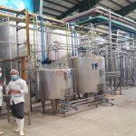 بازگشایی یک واحد تولید لبنیات با سرمایه خارجی